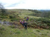 Heading for the northern summit of Whitbarrow