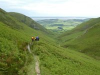 Descending Whitecombe Beck Valley
