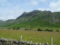 The Langdale Pike are fairly clear