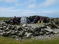 Black Combe summit shelter