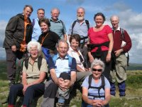 Burton Fellwalkers on Blawith Knott