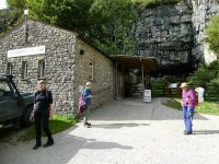 At Ingleborough Cave – I don't remember that building from 40 years ago!!