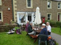 Tea and beer in Dufton