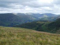 Looking over Glenridding Dodd to Hartsop