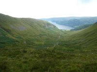 Glencoyne, the path we took is on the left hillside