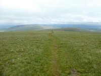 The long climb to Black Combe summit