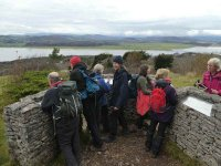 At the Direction Indicator on Arnside Knott