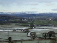 View over the Mosses to Coniston Fells